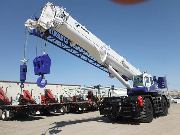 Jib Cranes Edmonton : Equipment rental edmonton myshak group of companies