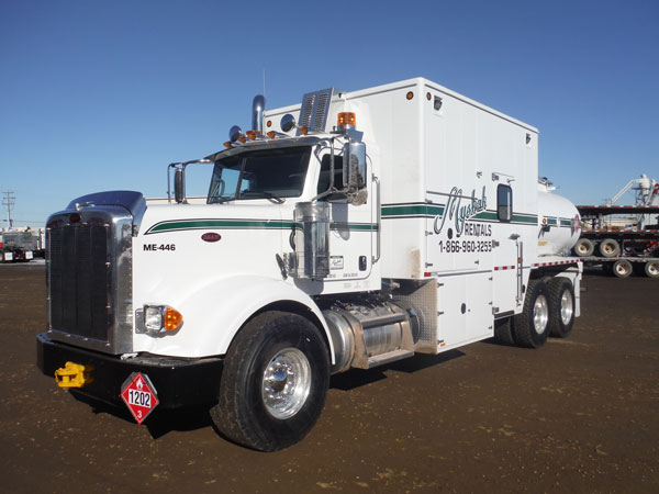 2015 Peterbilt 367 Tandem Axle Fuel / Lube Truck