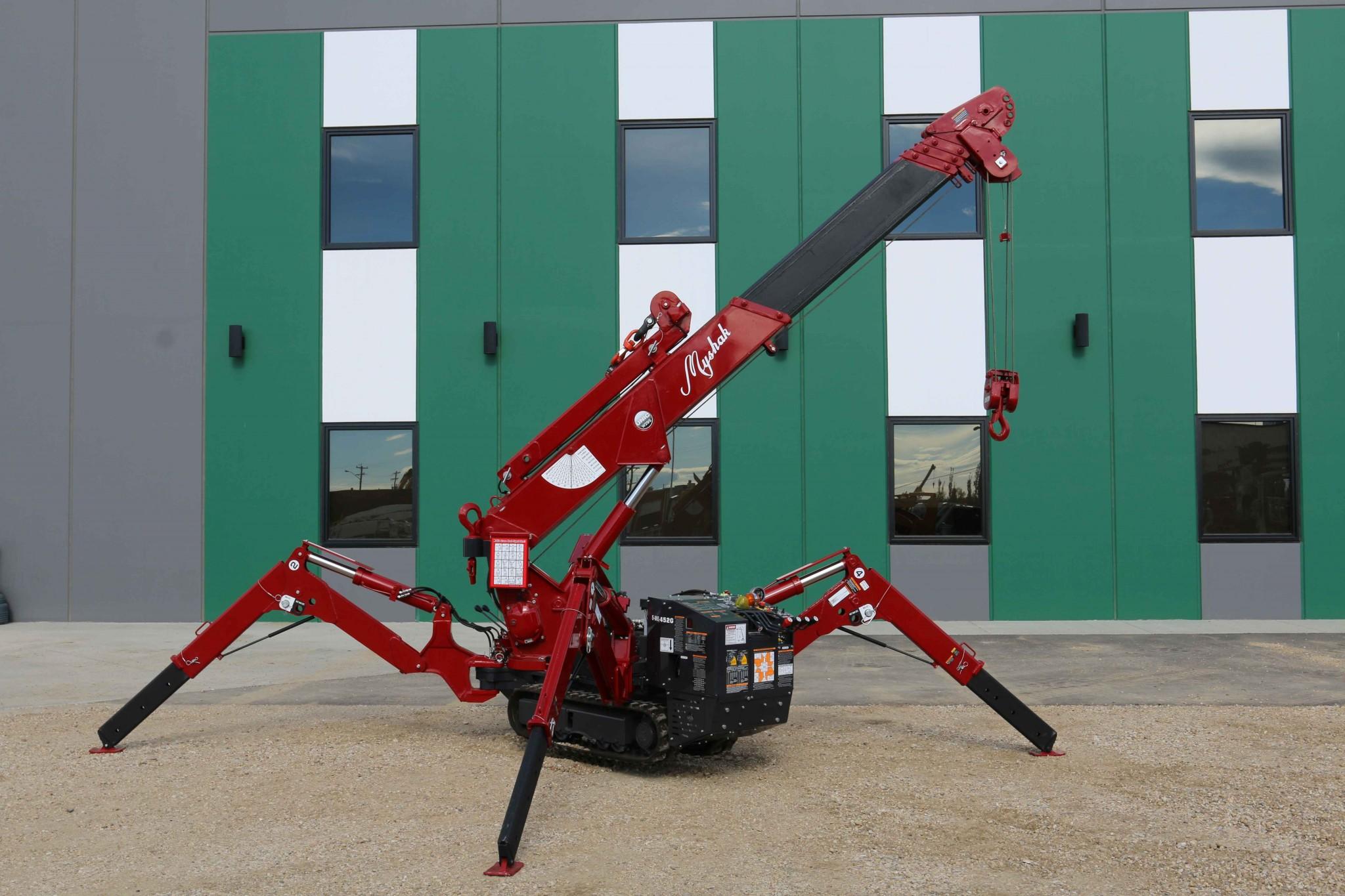 Unic Urw295 Spyder Crane Myshak Sales Amp Rentals Ltd