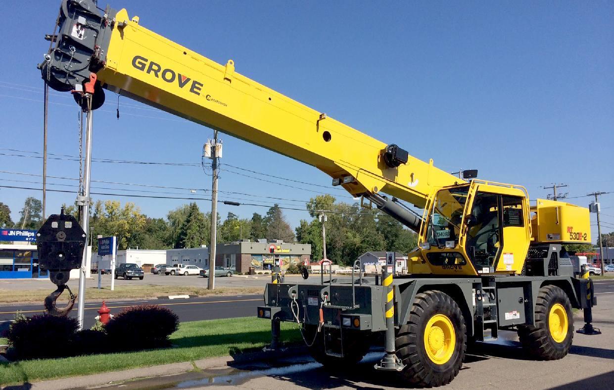 Lifting equipment, cranes 62